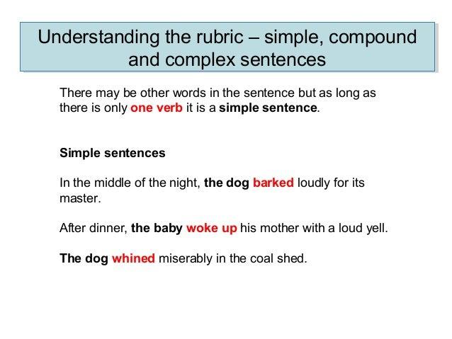 2. Sentence types
