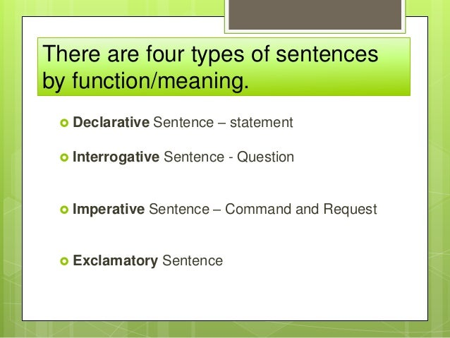 Sentence Types By Function 73251335 on Types Of Literature Worksheets