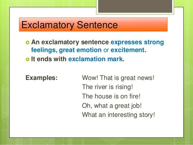 explain declarative sentence