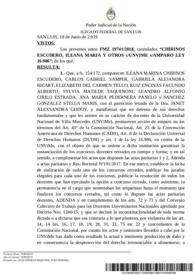 #31589924#237130590#20190618192605596 Poder Judicial de la Nación JUZGADO FEDERAL DE SAN LUIS SAN LUIS, 18 de Junio de 2.0...