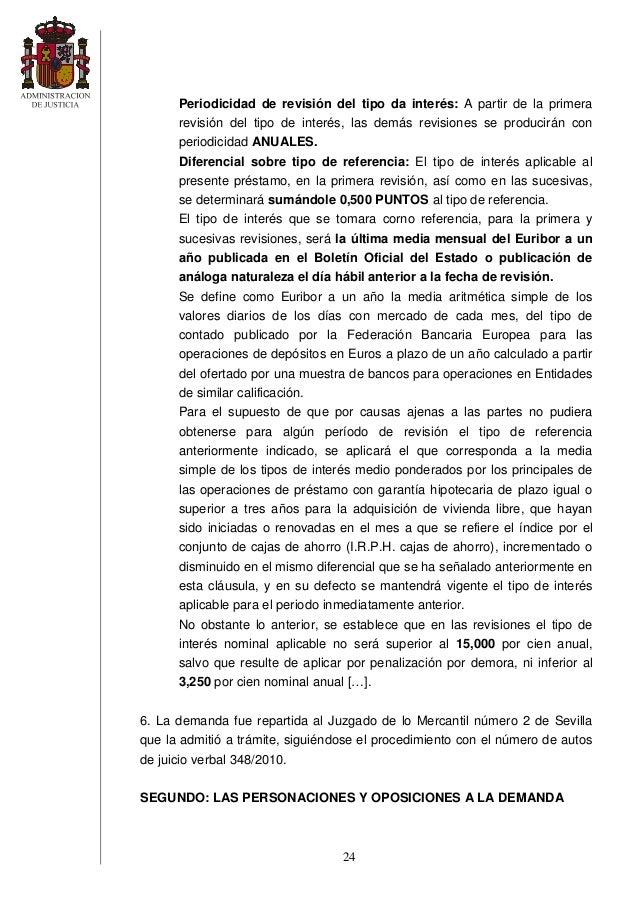 Sentencia clausula suelo for Clausula suelo cajamar