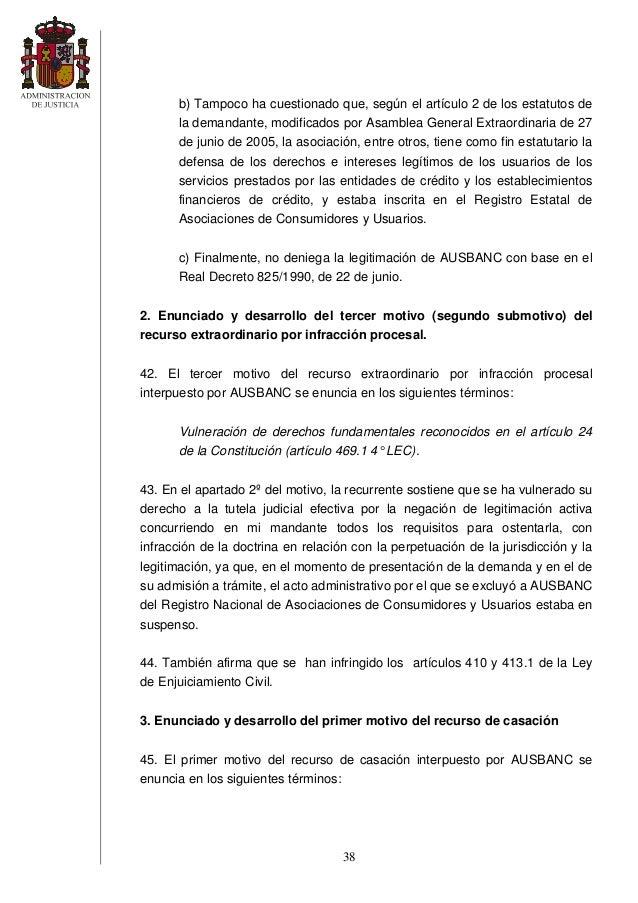 Sentencia clausula suelo for Validez acuerdo privado clausula suelo