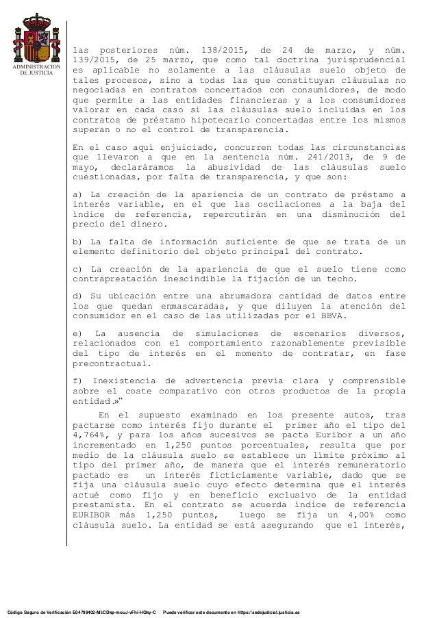 Sentencia nulidad cl usula targobank abogados bancarios for Sentencia nulidad clausula suelo