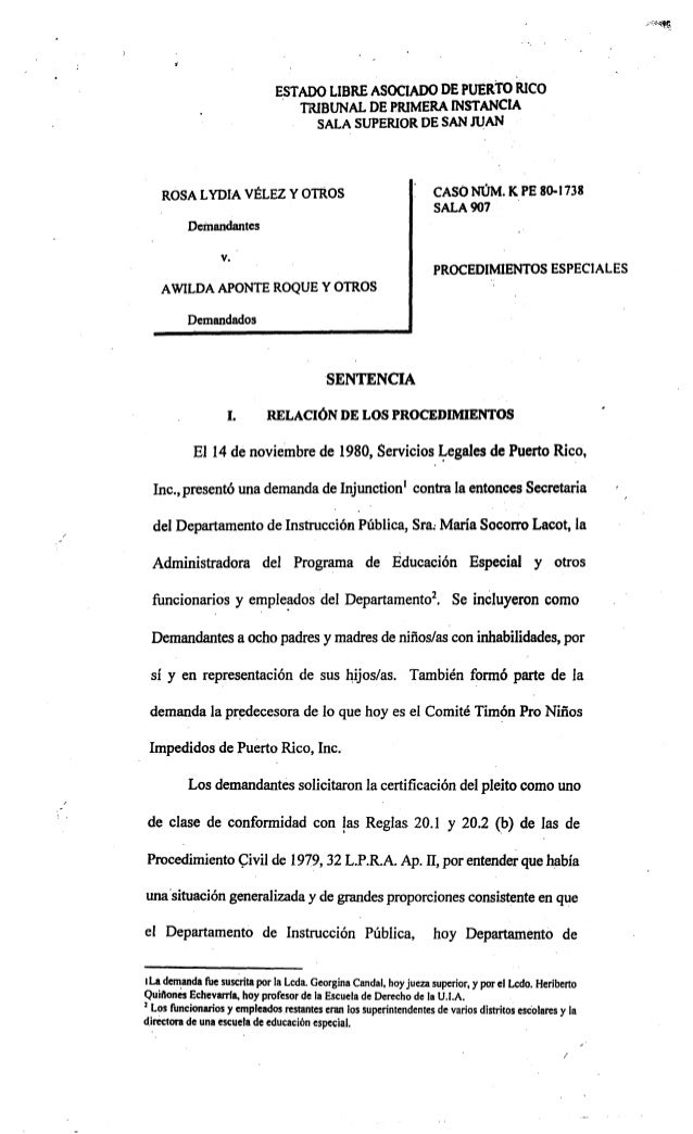 .:.:.,.~~  ,  ESTADO L1BRE ASOCIADO DE PUERto RICO . TRIBUNAL DE PRiMERA INSTANCIA SALA SUPERIOR DE SAN JUAN  ROSA LYDIA V...