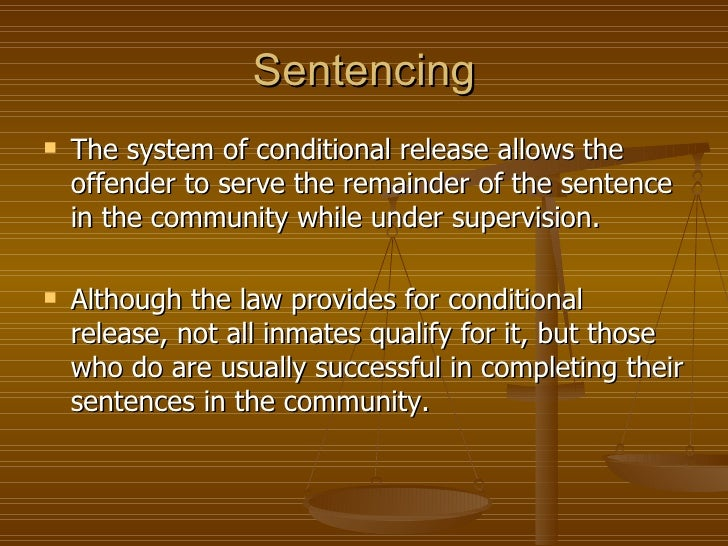five goals in sentencing Specifically, this project identified five goals:  sentencing, incarceration and  but we must also be smart on crime.