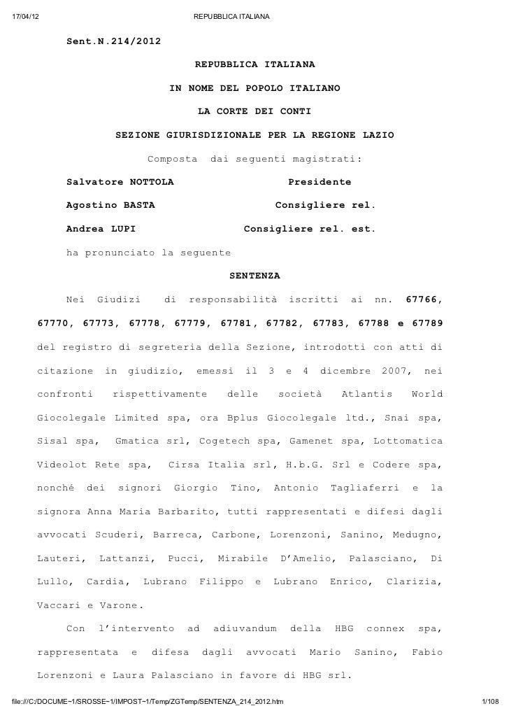 17/04/12                                       REPUBBLICA ITALIANA              Sn..1/02               etN2421            ...