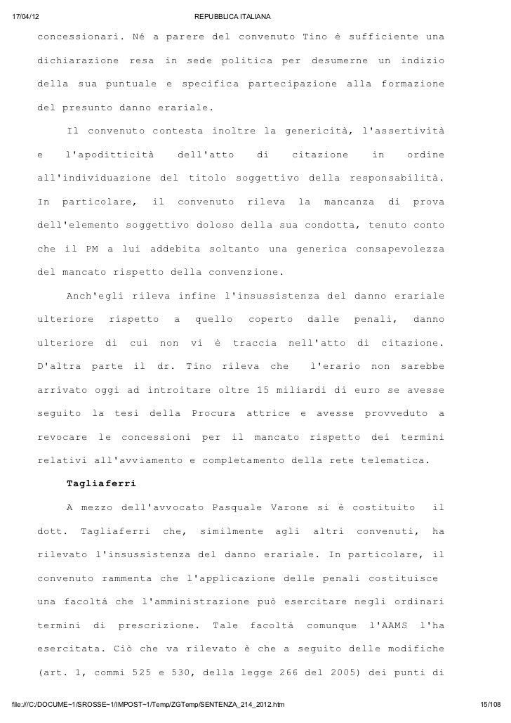 17/04/12                                       REPUBBLICA ITALIANA       cnesoai N aprr dl cneuoTn è sfiineua       ocsinr...
