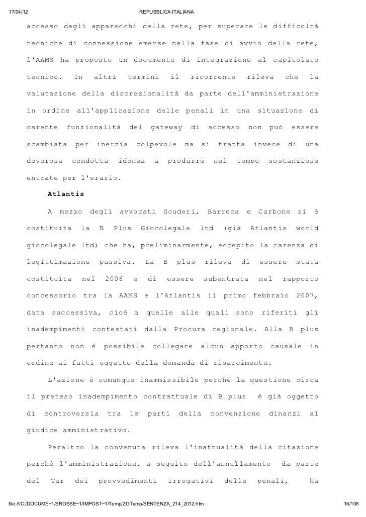 17/04/12                                       REPUBBLICA ITALIANA       acso dgiaprch dlart, prsprr l dfiot       ces   e...