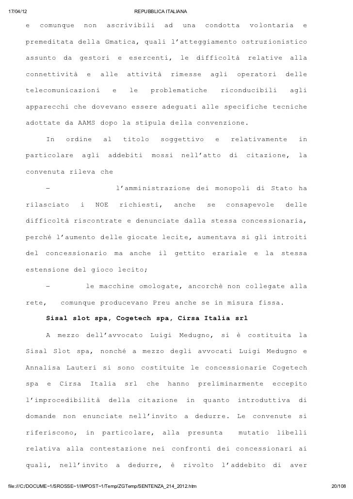 17/04/12                                       REPUBBLICA ITALIANA       e   cmnu            ouqe nn                  o   ...