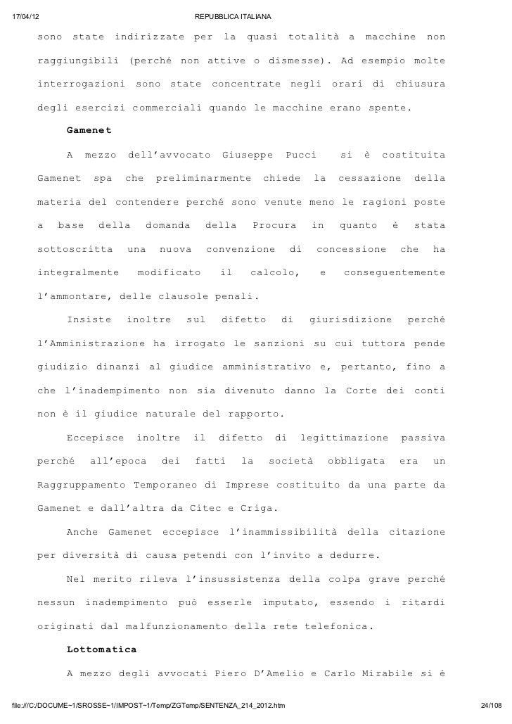 17/04/12                                       REPUBBLICA ITALIANA       sn sae idrzae pr l qai ttlt a mchn nn        oo t...