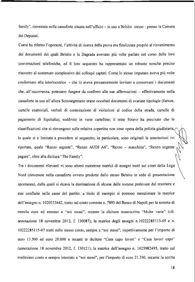 pre!. X Bossi Riccardo ML; la matrice dell'assegno n. 1025982494 per euro 5.650, intestato a noi stessi, recante la dicitu...