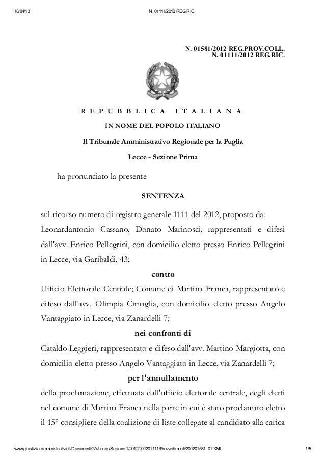 18/04/13                                                           N. 01111/2012 REG.RIC.                                 ...