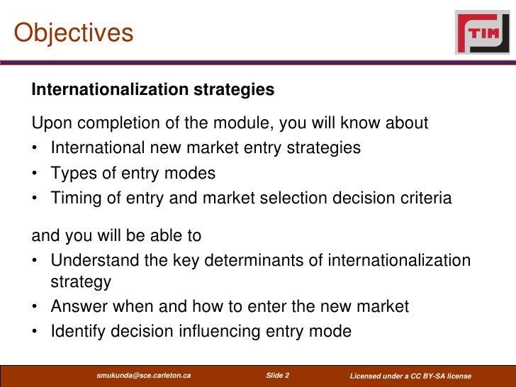 disadvantages of internationalisation in businesses On the other hand, international licensing is a foreign market entry mode that presents some disadvantages and reasons why companies should not use it as: lower income than in other entry modes loss of control of the licensee manufacture and marketing operations and practices leading to loss of quality risk of having.
