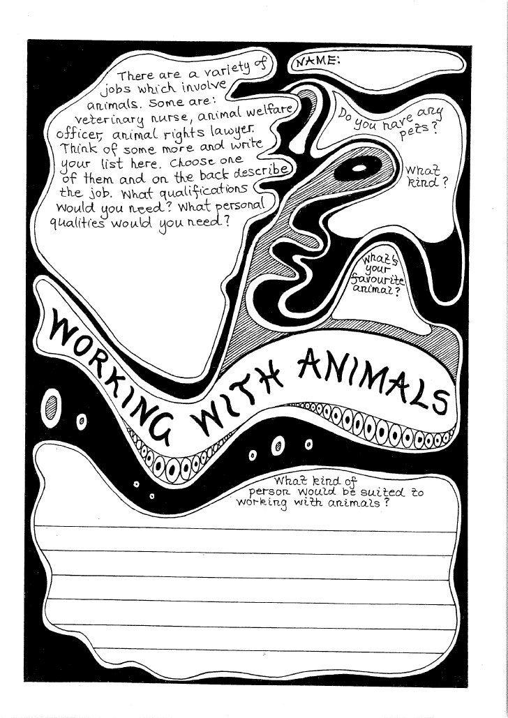 Animal Sentience Worksheets