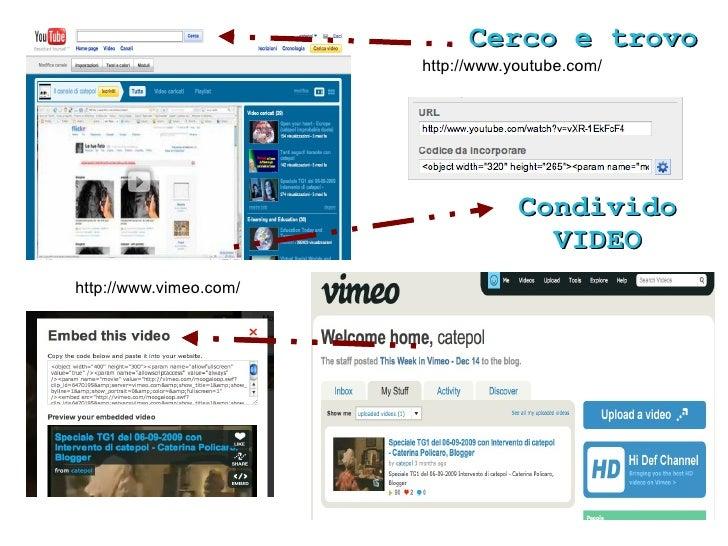 Condivido Cerco e trovo                           SLIDES                          DOCUMENTI                          http:...