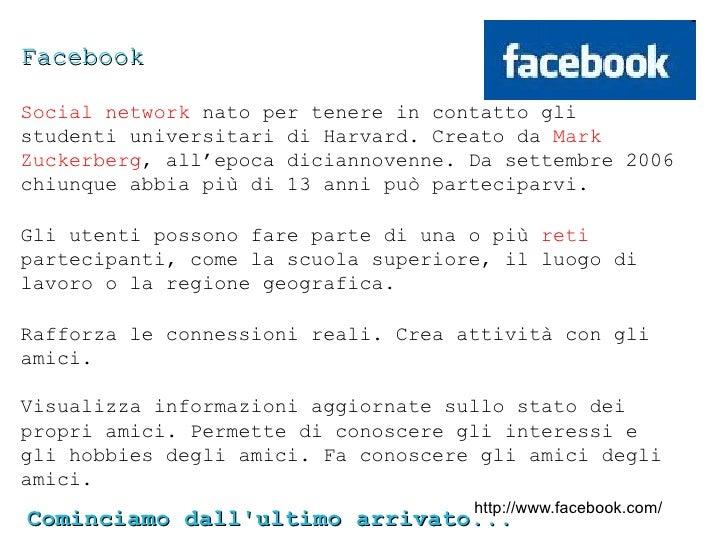 Non è un caso che tutti vogliano sapere... Facebook è una piazza, qualunque                piazza attività tu faccia in un...