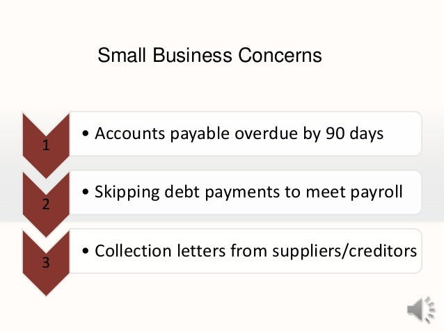 Small business financing and capital acquisition Slide 3