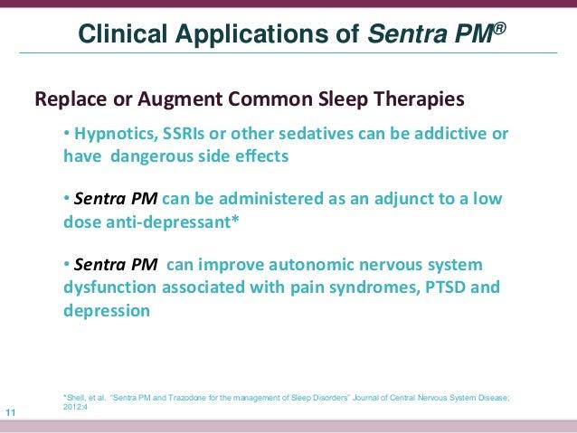 Trazadone sleep mechanism