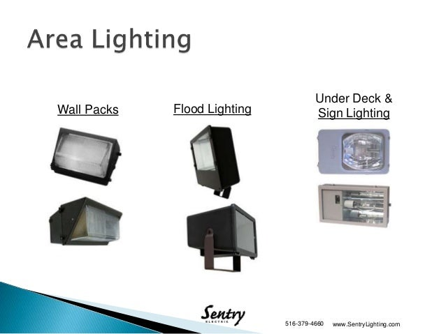 Introduction To Sentry Electric Street and Area Lighting Products