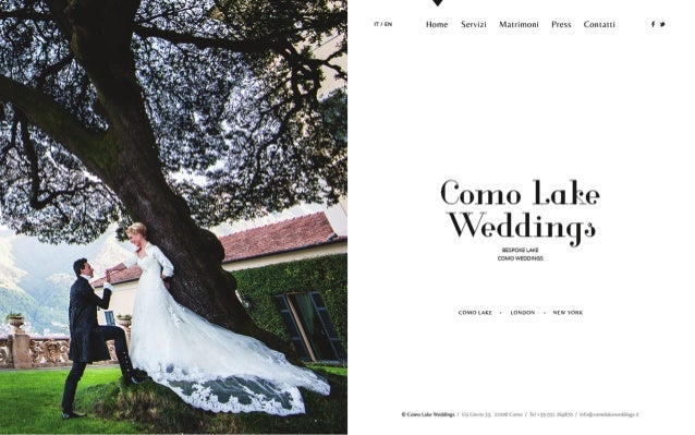 ITI EN  v  Home Servizi Matrimoni Press Contaui  Como Lake Weddings  BESPOKE LAKE COMO WEDDINGS  COMOLAKE » LONDON - NEWVO...