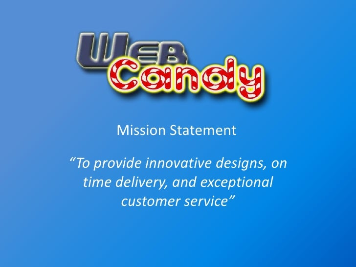 """To provide innovative designs, on time delivery, and exceptional customer service""<br />Mission Statement<br />"