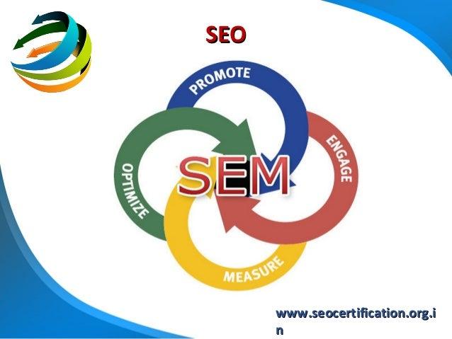 SEO      www.seocertification.org.i      n