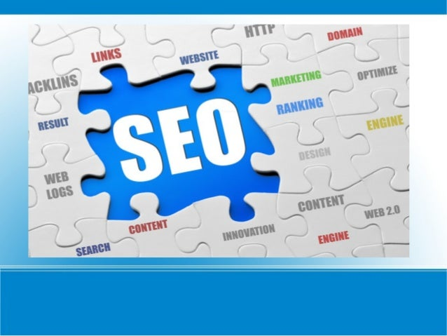 ● Search engine optimization (SEO) is theprocess of affecting the visibility of a web pagein a search engines search resul...