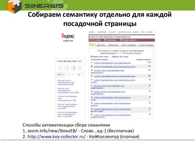 Оптимизация страниц сайта 1106 как заработать xrumer