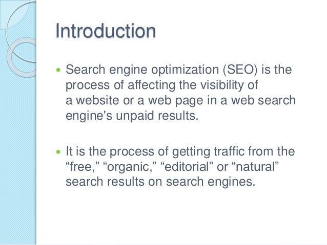 Seo presentation Slide 2