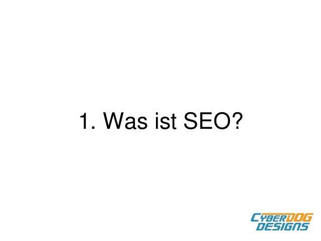 Einführung SEO mit WordPress Slide 2