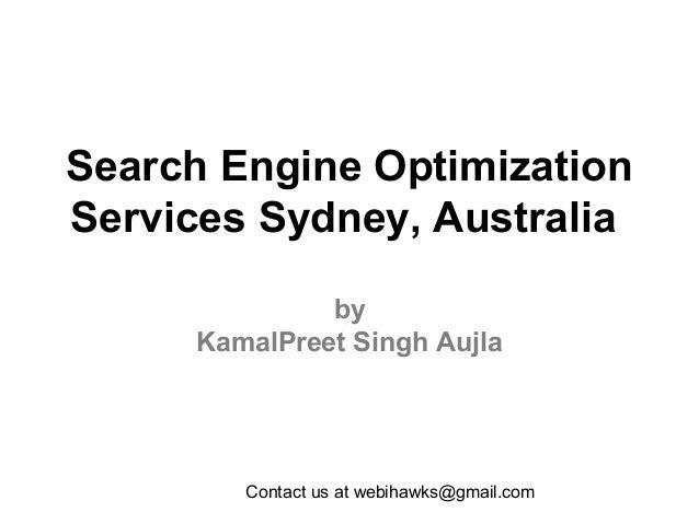 Search Engine Optimization Services Sydney, Australia - Webihawks