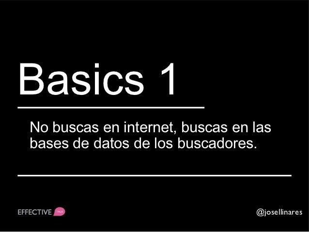 ¡¡Sorpresa!!Los buscadores no son capaces deacceder a todas las webs.                               @josellinares