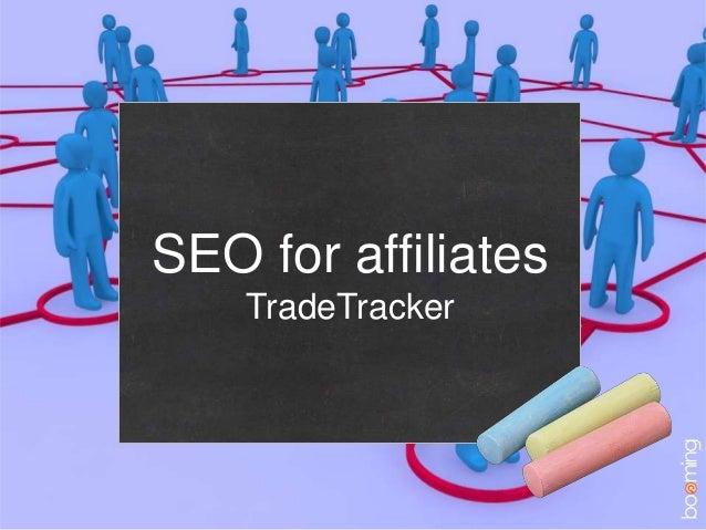 SEO for affiliatesTradeTracker