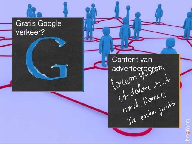 Gratis Googleverkeer?Content vanadverteerders