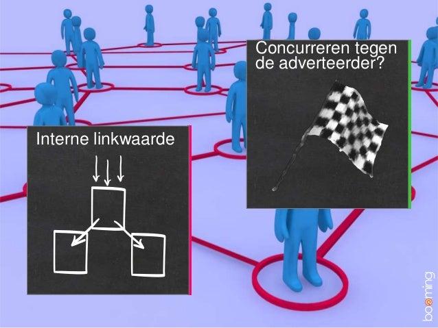 Interne linkwaardeConcurreren tegende adverteerder?