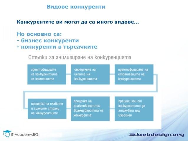 SEO Анализ на конкуренцията Slide 3