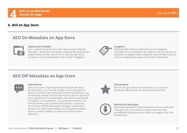 Manual de ASO  ASO en las diferentes  4 tiendas de Apps  Capturas de Pantalla  A los usuarios les gusta ver como luce una ...