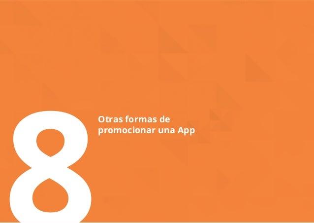 8Otras formas de  promocionar una App