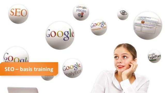 SEO basis training SEO – basis training