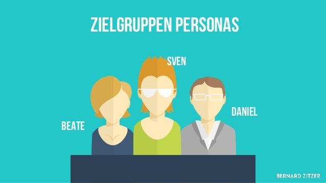 Zielgruppen Personas https://www.usability.de/leistungen/methoden/personas.html http://www.zwp-online.info/de/zwpnews/wirt...