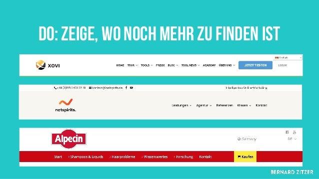 § Universal Navigation § Mega-Menu § Sinnvoller einsatz der sidebar Information-heavy websites