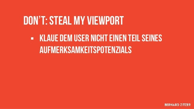 1/6 des viewports werden dem Nutzer Geraubt https://www.campixx.de