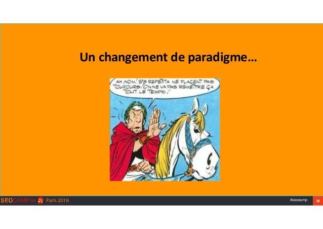 #seocamp 20 Unchangementdeparadigme…