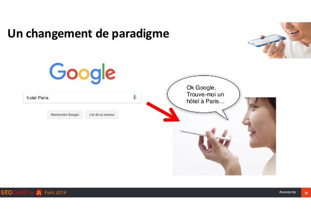 #seocamp 22 Unchangementdeparadigme hotel Paris Ok Google, Trouve-moi un  hôtel à Paris…
