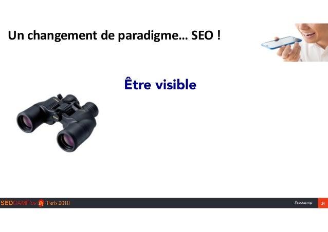 #seocamp 24 Unchangementdeparadigme…SEO! Être visible