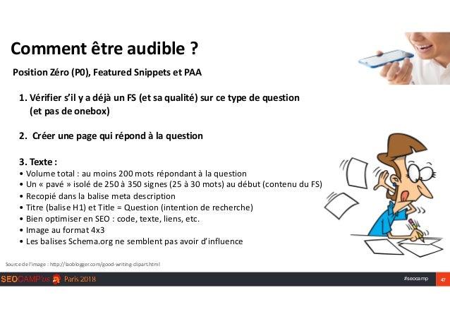 #seocamp 47 Commentêtreaudible? PositionZéro(P0),FeaturedSnippetsetPAA Sourcedel'image:http://laoblogger.com/...
