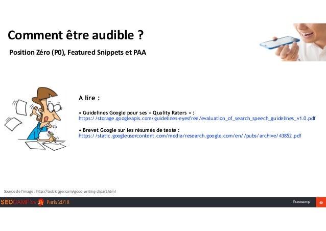 #seocamp 49 Commentêtreaudible? PositionZéro(P0),FeaturedSnippetsetPAA Sourcedel'image:http://laoblogger.com/...
