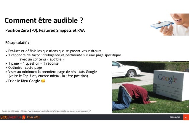 #seocamp 50 Commentêtreaudible? PositionZéro(P0),FeaturedSnippetsetPAA Sourcedel'image:https://www.supportmei...