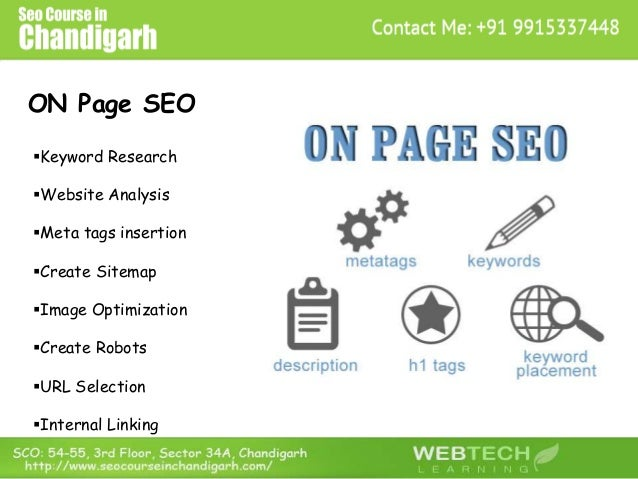 ON Page SEO Keyword Research Website Analysis Meta tags insertion Create Sitemap Image Optimization Create Robots U...
