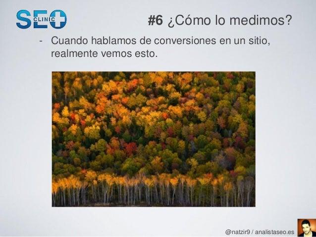 #6 ¿Cómo lo medimos?- Cuando hablamos de conversiones en un sitio,  realmente vemos esto.                                 ...